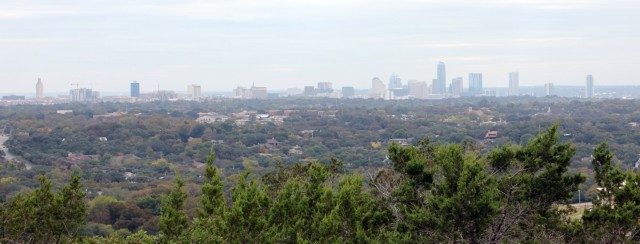 Chapter 5: view of downtown Austin from The High Ground