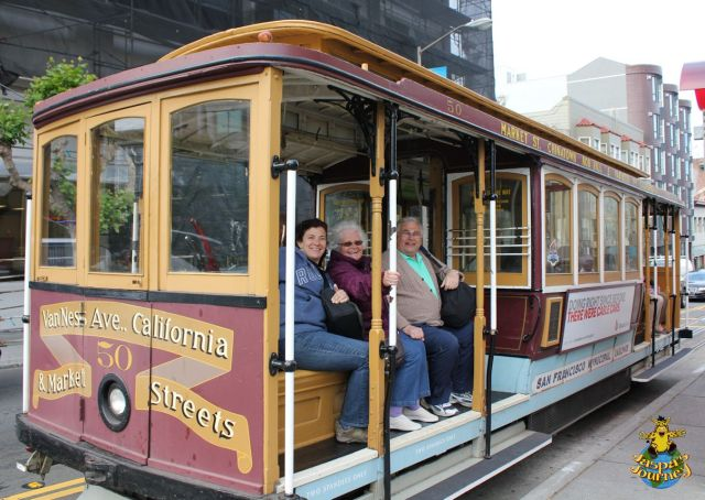 All aboard Cable Car No. 50