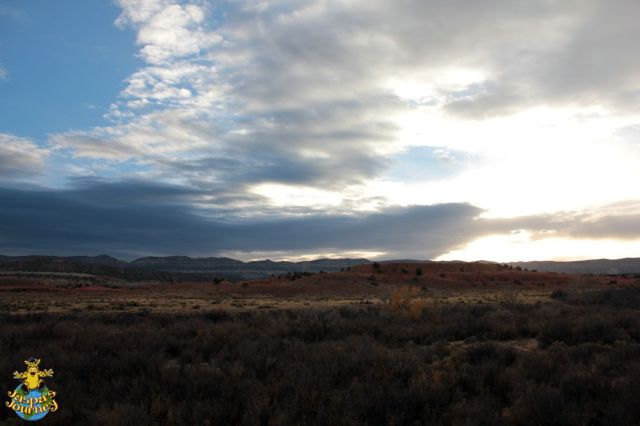 Storm brewing over Grand Escalante