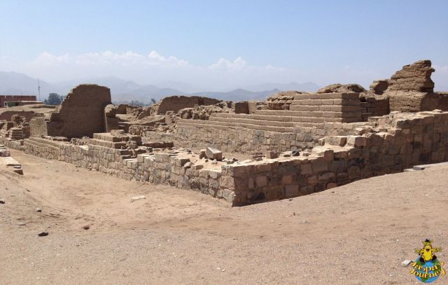 'Palace of Taurichumpi' in the south-east part of the Pachacámac site (Inca Period 1470-1533 AD)