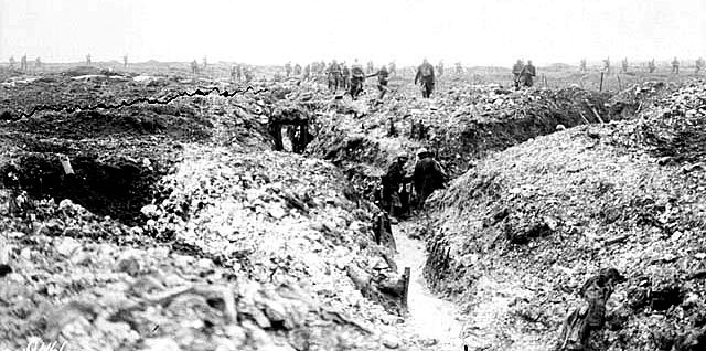 Vimy Trenches in 1917