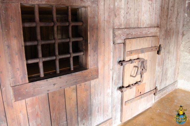 Cell door in the Piombi